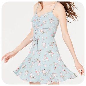 Trixxi Ruched Fit & Flare Dress, XL - NWT